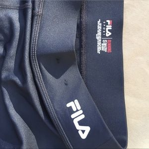 Fila Shorts - FILA compression running shorts. 🏃‍♀️ NWOT.